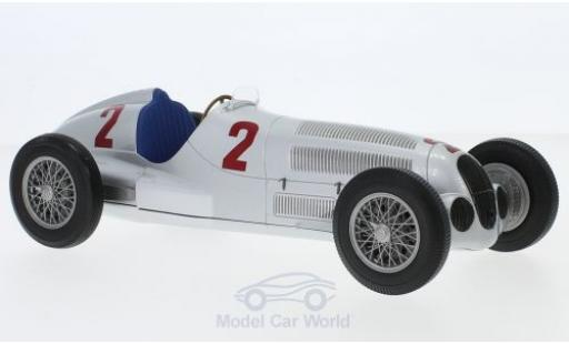 Mercedes W 125 1/18 Minichamps No.2 Formel 1 GP Tripolis 1937 H.Lang miniature