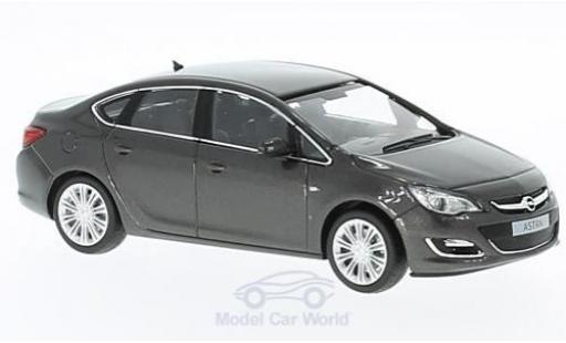 Opel Astra 1/43 Minichamps J Limousine metallise grise 2012 miniature