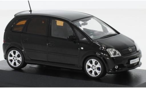 Opel Meriva 1/43 I Minichamps A OPC noire 2006 miniature