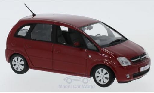 Opel Meriva 1/43 Minichamps rouge 2003 miniature