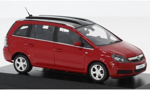 Opel Zafira 1/43 I Minichamps B rouge 2005 avec toit panoramique miniature