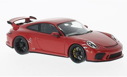 Porsche 991 GT3 1/43 I Minichamps 911  red diecast model cars