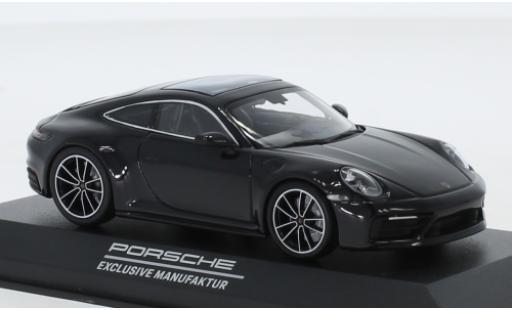 Porsche 911 1/43 I Minichamps (992) Carrera 4S PEM bleue 2020 Belgian Legend miniature