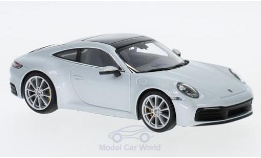 Porsche 992 SC 1/43 Minichamps (992) Carrera S grise 2019 miniature