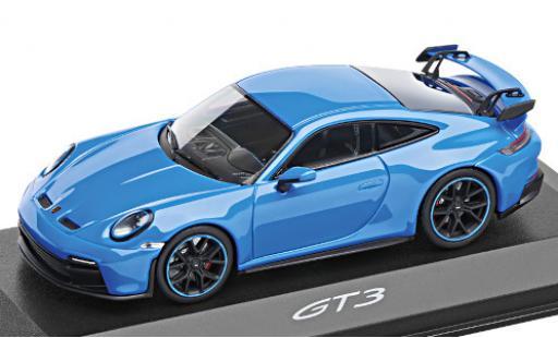 Porsche 992 GT3 1/43 I Minichamps 911  bleue 2021 miniature