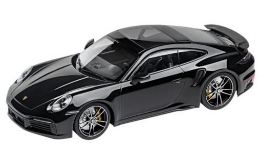 Porsche 992 Turbo s 1/18 I Minichamps 911 Turbo S  noire 2020 miniature