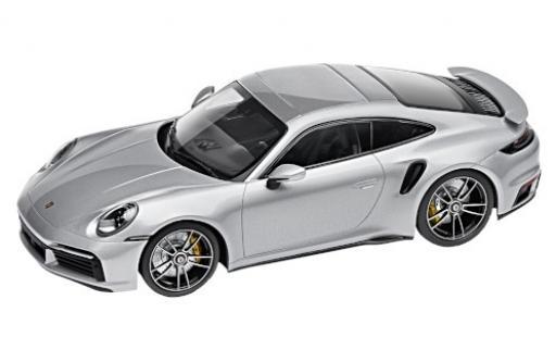 Porsche 992 Turbo s 1/18 I Minichamps 911 Turbo S  silber 2020