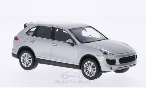 Porsche Cayenne GTS 1/43 Minichamps grise 2014 ohne Vitrine miniature