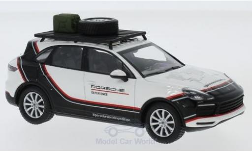 Porsche Cayenne S 1/43 Minichamps blanche/noire 2018 World Expedition miniature