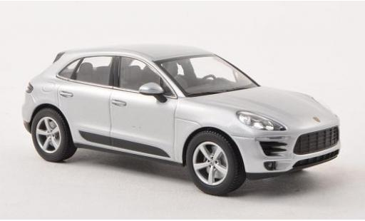 Porsche Macan 1/43 I Minichamps grey 2013 diecast model cars