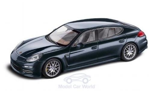 Porsche Panamera 1/43 I Minichamps 4S Executive metallic blue diecast