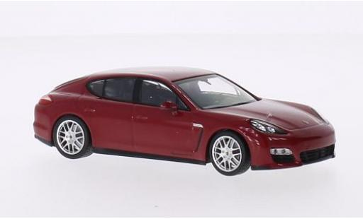 Porsche Panamera GTS 1/43 I Minichamps rouge 2009 miniature