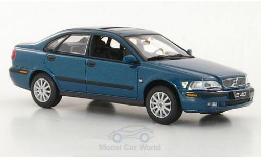 Volvo S40 1/43 Minichamps metallise green diecast model cars