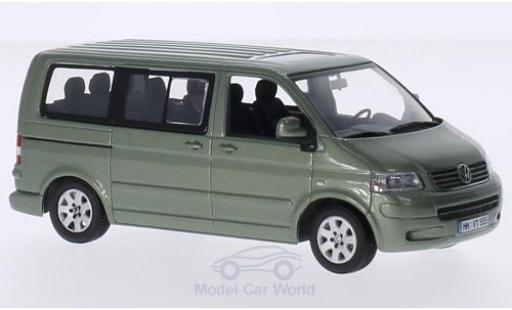 Volkswagen T5 1/43 Minichamps Multivan metallise verte 2003 miniature