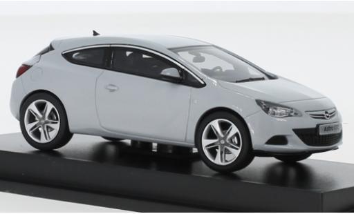Opel Astra 1/43 I Motorart J GTC metallise grise 2012 miniature
