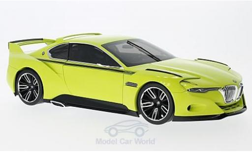 Bmw 3.0 1/18 Norev CSL Hommage yellow Hommage Collection ohne Vitrine diecast model cars