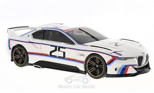 Bmw 3.0 S 1/18 Norev CL Hommage R weiss 2015 No.25 Pebble Beach modellautos