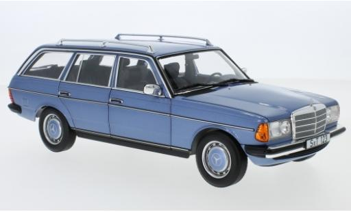 Mercedes 200 1/18 I Norev T (S123) metallise blue 1980 diecast model cars