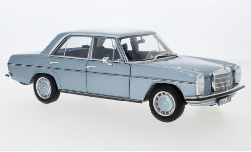 Mercedes 200 1/18 I Norev (W115) metallise bleue 1968 miniature