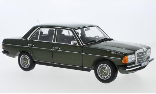 Mercedes 200 1/18 I Norev (W123) metallise green 1980 diecast model cars