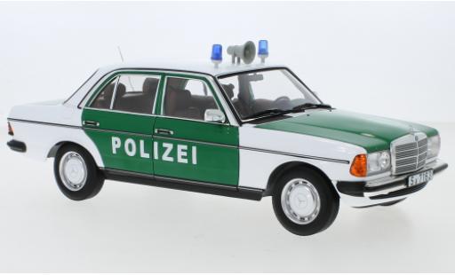 Mercedes 200 1/18 I Norev (W123) Polizei (D) miniature