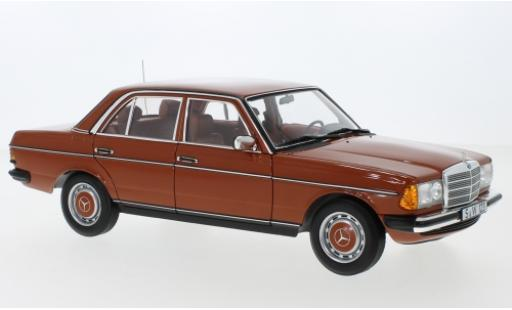 Mercedes 200 1/18 I Norev (W123) red 1980 diecast model cars