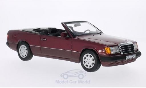 Mercedes 300 1/18 Norev CE-24 (A124) red Softtop zum aufsetzen liegt bei diecast