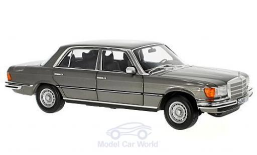 Mercedes 450 SEL 1/18 Norev 6.9 (W116) metallise grise 1976 miniature
