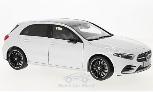 Mercedes Classe A 1/18 Norev (W177) metallise blanche 2018 miniature
