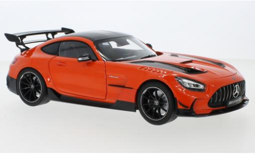 Mercedes AMG GT 1/18 I Norev Black Series (C190) orange diecast model cars