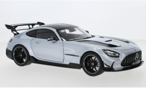 Mercedes AMG GT 1/18 I Norev Black Series (C190) grey diecast model cars