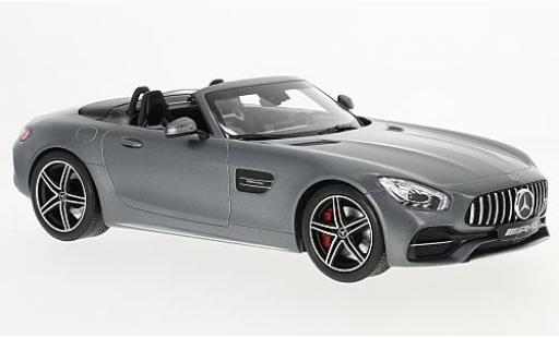 Mercedes AMG GT 1/18 I Norev C Roadster grey 2017 diecast model cars