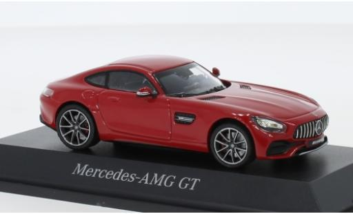 Mercedes AMG GT 1/43 Norev (C190) rouge miniature