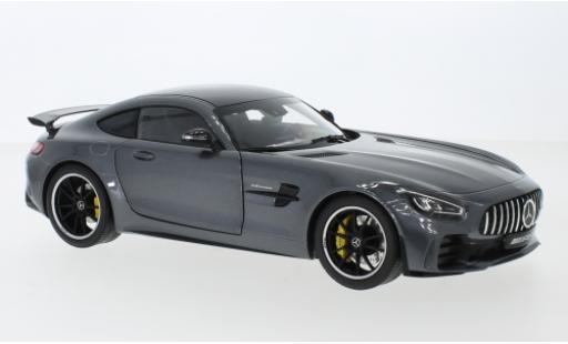 Mercedes AMG GT 1/18 I Norev R (C190) métallisé anthrazit/carbon miniature