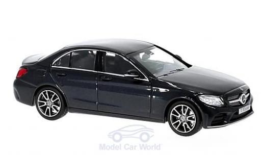 Mercedes Classe C 1/43 Norev Mopf (W205) metallise blue diecast model cars