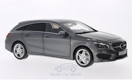 Mercedes CLA 1/18 Norev Klasse Shooting Break metallise grise miniature