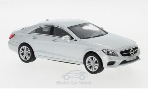 Mercedes CLS 1/43 Norev (C218) grise 2014 miniature