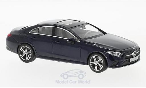 Mercedes CLS 1/43 Norev Coupe (C257) metallise bleue 2018 miniature