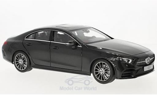 Mercedes CLS 1/18 Norev Coupe (C257) metallise grise 2018 miniature
