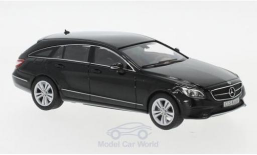 Mercedes CLS 1/43 I Norev Shooting Brake (X218) noire 2014 miniature
