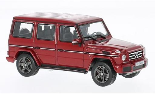 Mercedes Classe G 1/43 I Norev (W463) metallise red diecast model cars