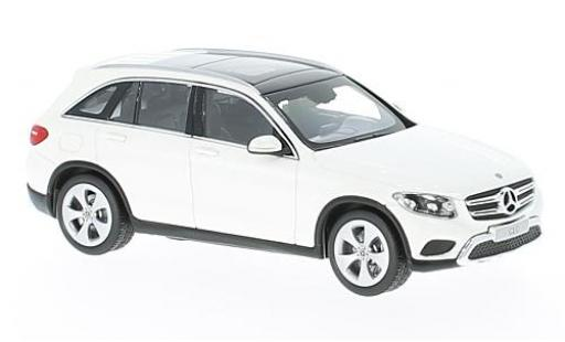 Mercedes Classe GLC 1/43 I Norev GLC (X253) metallise white diecast model cars