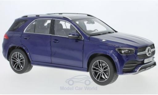 Mercedes Classe GLE 1/18 Norev GLE (V167) metallise blue diecast model cars