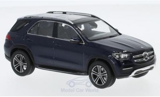 Mercedes Classe GLE 1/43 Norev GLE (V167) metallise blue 2018 diecast model cars