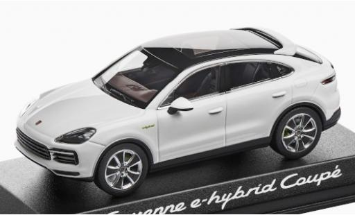 Porsche Cayenne e-hybrid 1/43 Norev Coupe blanche 2019 miniature