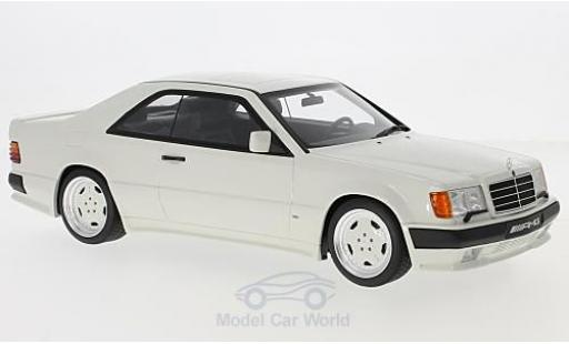 Mercedes 300 S 1/18 Ottomobile CE (C124) AMG 6.0L Widebody white diecast