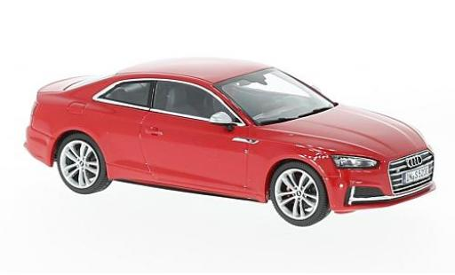 Audi S5 1/43 Paragon Coupe rosso modellino in miniatura