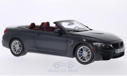 Bmw M4 F83 1/18 Paragon BMW Cabrio (F83) metallic-dunkelgrise 2014 miniature