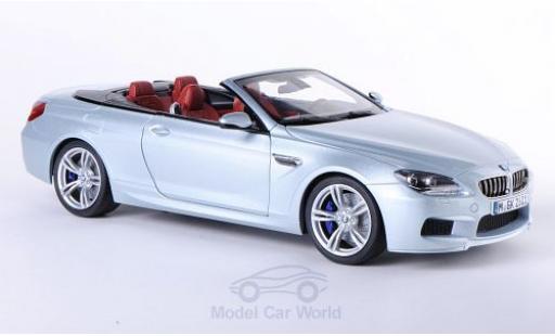 Bmw M6 F12 1/18 Paragon BMW Cabriolet (F12) grey 2012 diecast