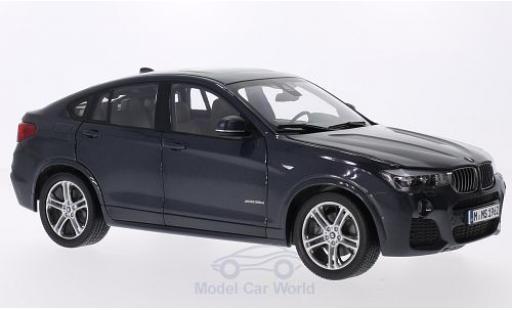 Bmw X4 F26 1/18 Paragon BMW (F26) metallic-dunkelgrey 2015 diecast